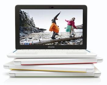 HP Chromebook 11 G1 Colors