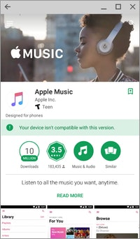 Apple Music Play Store Chromebook