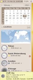Time and Weather in Ubuntu