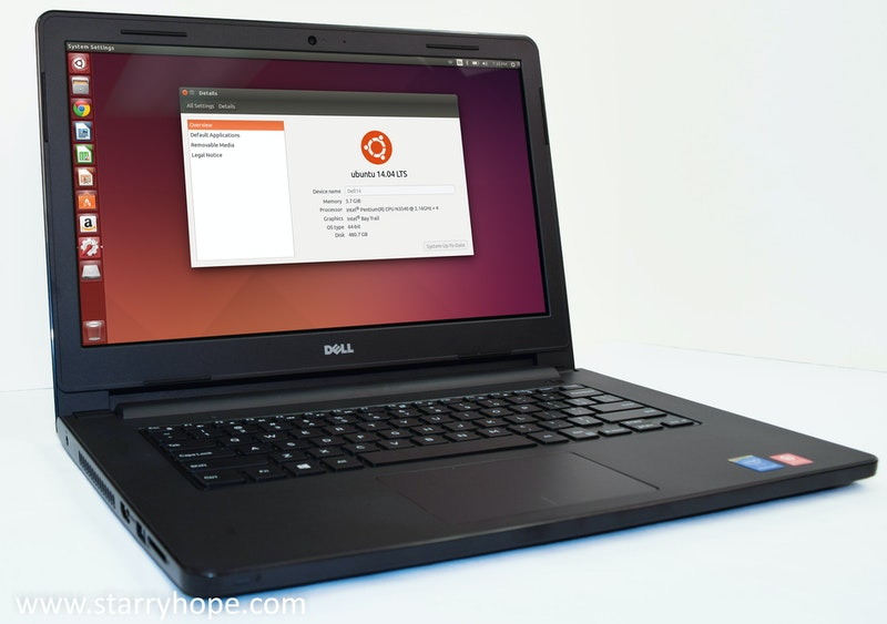 Dell Inspiron 14 Ubuntu Edition