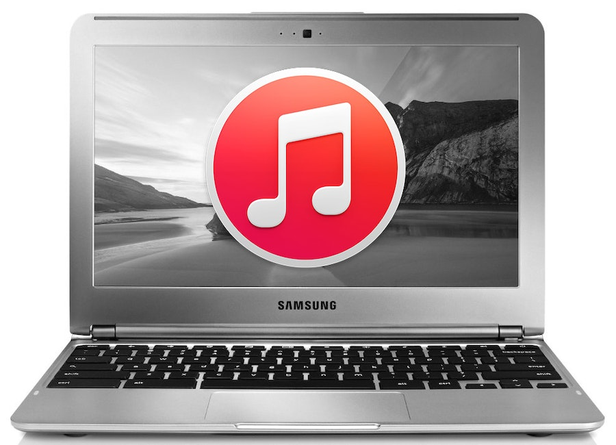can you download itunes on asus chromebook