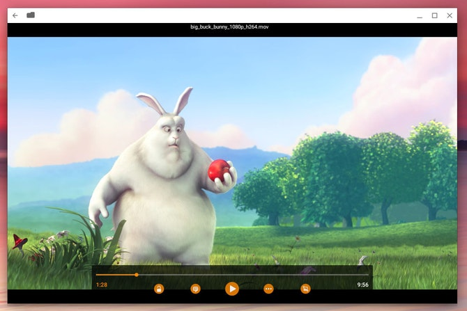 VLC on Chrome OS