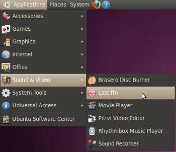 Last.fm client in Ubuntu