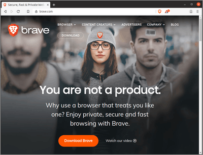 Brave Browser on Ubuntu 19.04